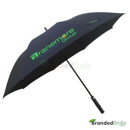 Black Custom Golf Umbrella