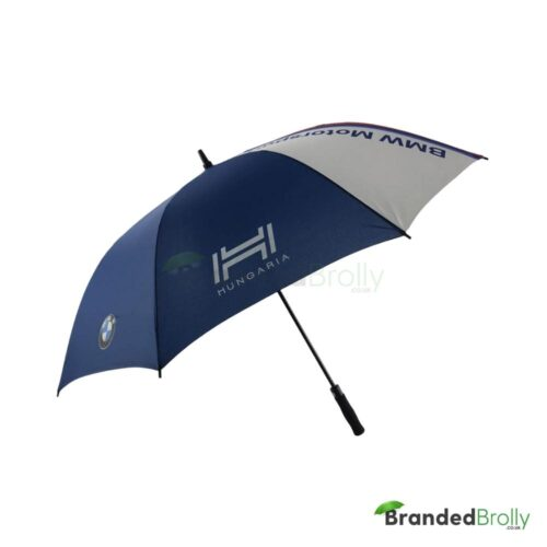 Blue And White Bmw Promotional Umbrella