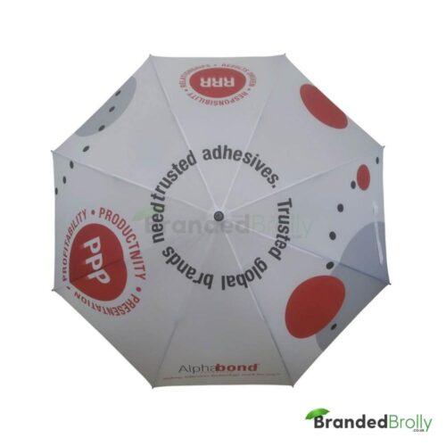 All Over Canopy Print Golf Umbrella