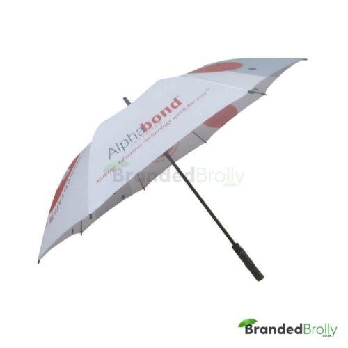 All Over Canopy Print Custom Golf Umbrella