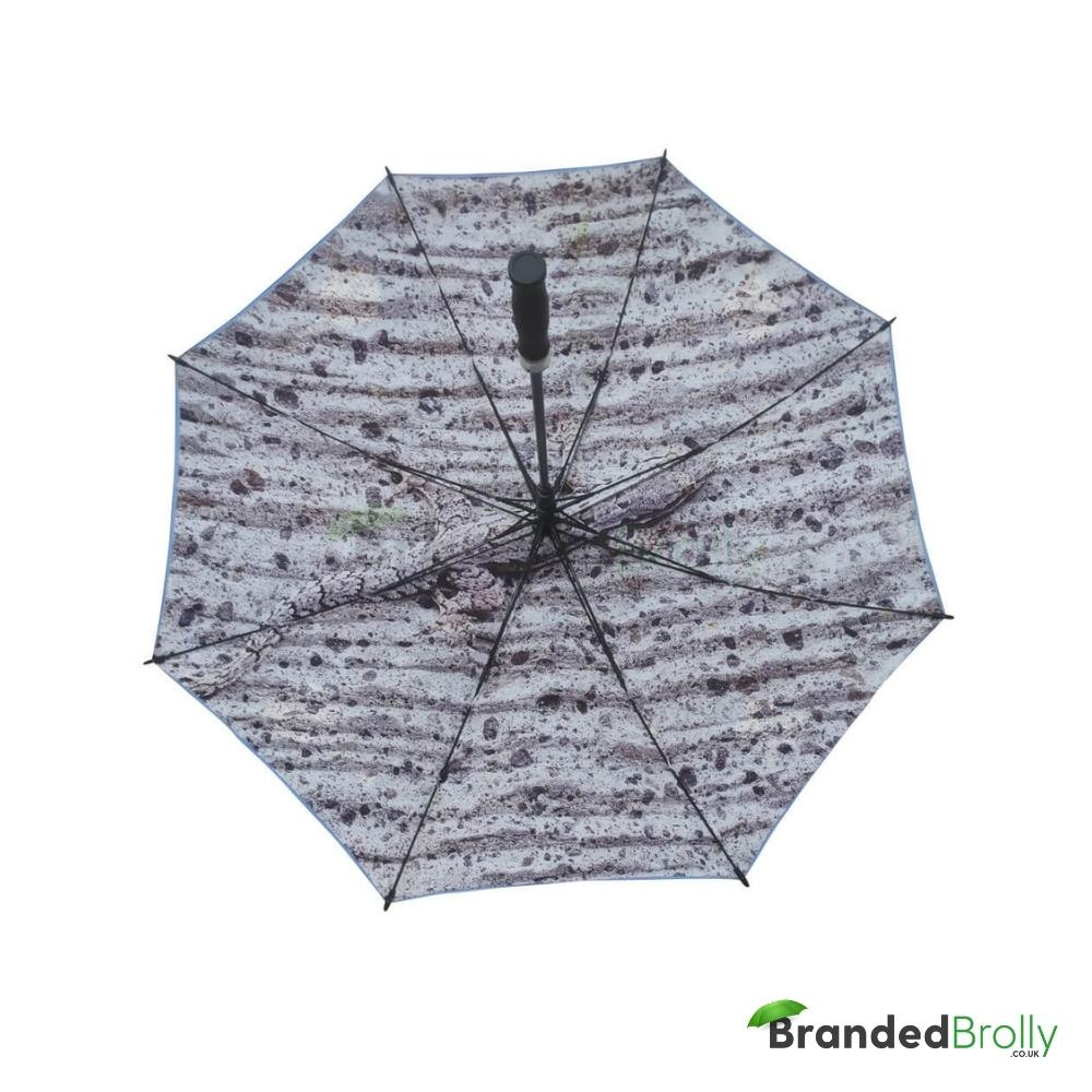 Dual Canopy Print Personalised Golf Umbrella