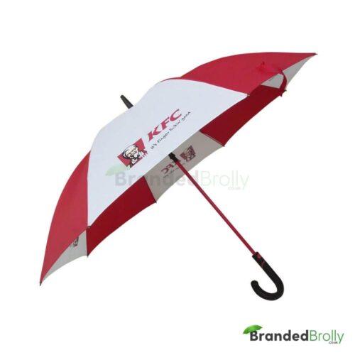 KFC Red And White City Umbrella