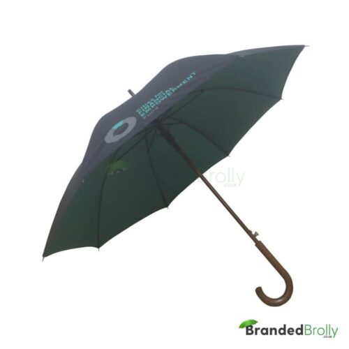 Dual Canopy Pantone Matched Branded Umbrella