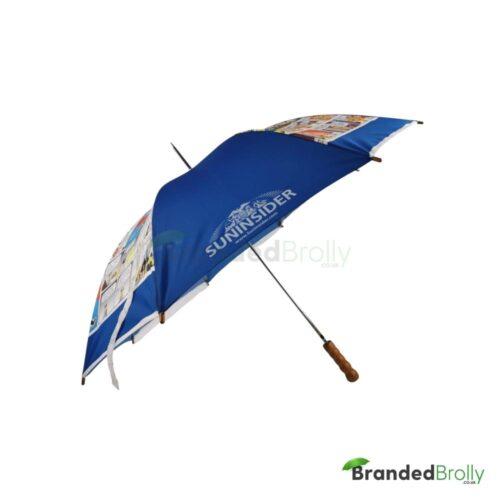 Budget Metal Frame Branded Umbrella