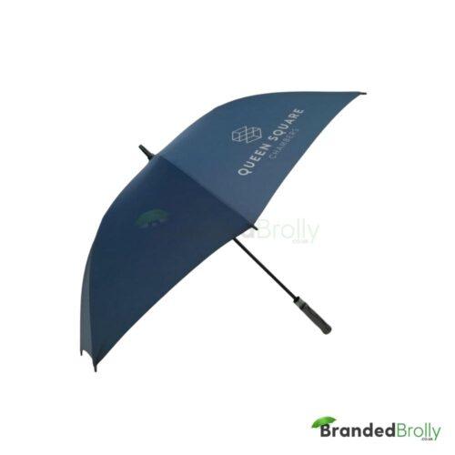 Navy Blue Branded Umbrella