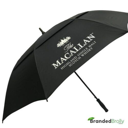 Xl Vented Branded Umbrella