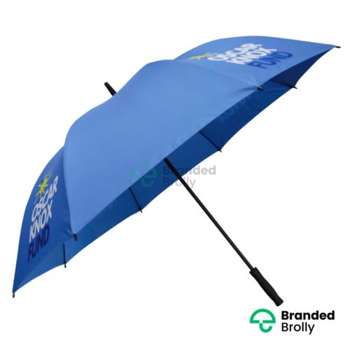 Oscar Knox Blue Personalised Branded Custom Golf Umbrella