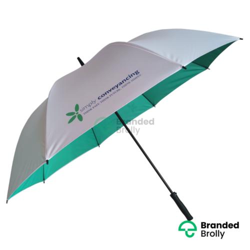 Dual Canopy Pantone Matched Custom Umbrella