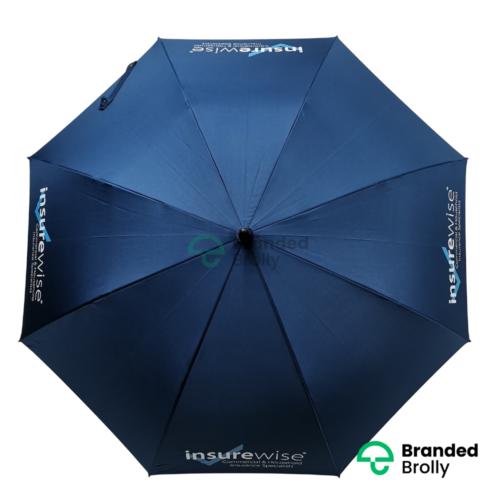 Blue Large Branded Golf Umbrella