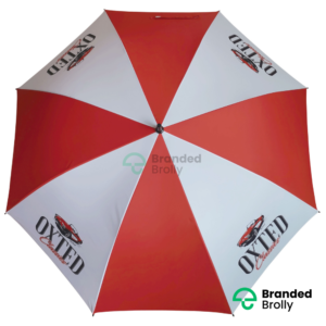 Red And White Xl Large Golf Umbrella