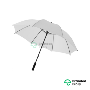 Value Range White Branded Golf Umbrella