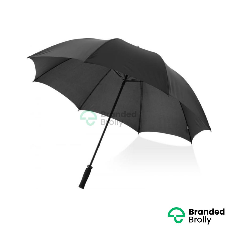 Value Range Black Branded Golf Umbrella