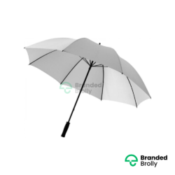 Value Range Silver Branded Golf Umbrella