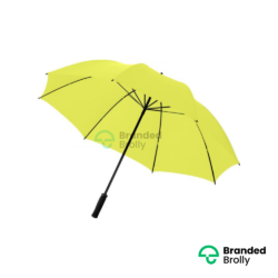 Value Range Yellow Branded Golf Umbrella