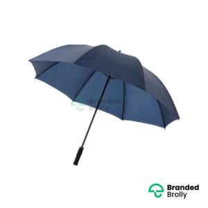 Value Range Navy Branded Golf Umbrella
