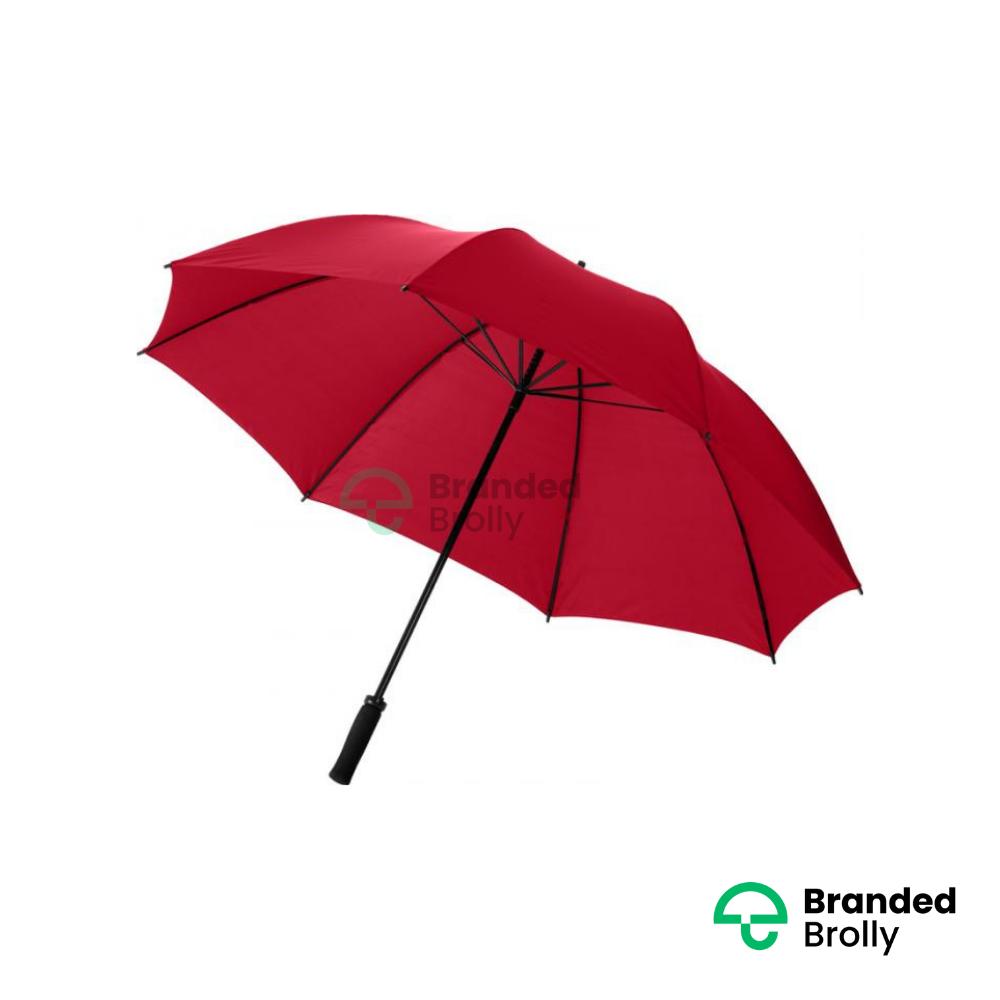 Value Red Branded Golf Umbrella