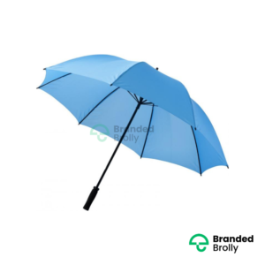 Value Range Sky Blue Branded Golf Umbrella